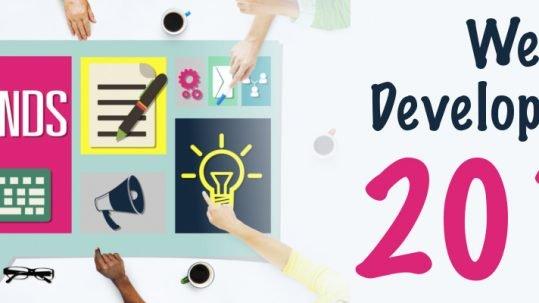 4 trends in web development 2018